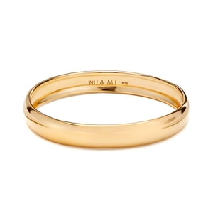 NU & MII Ava Gold bangle