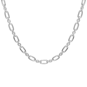Sophie Habboo Linked Together Chain Silver Necklace