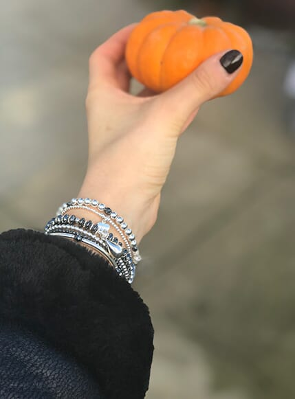 Add some glamour to Halloween with Hematite!