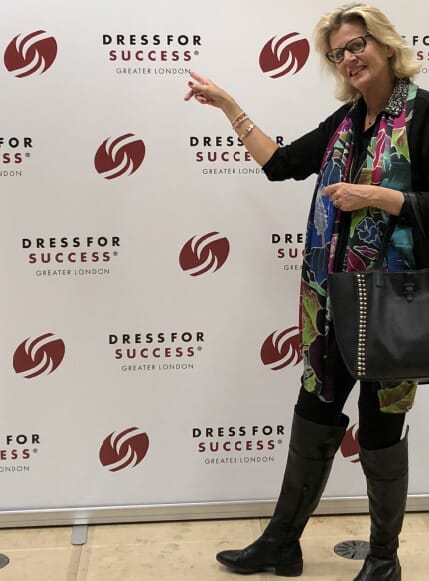 Announcing the ANNIE HAAK and Dress for Success Greater London partnership