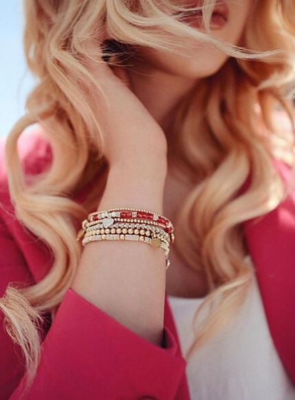 Chloe's favourite stack – The Salsa Bracelet Stack
