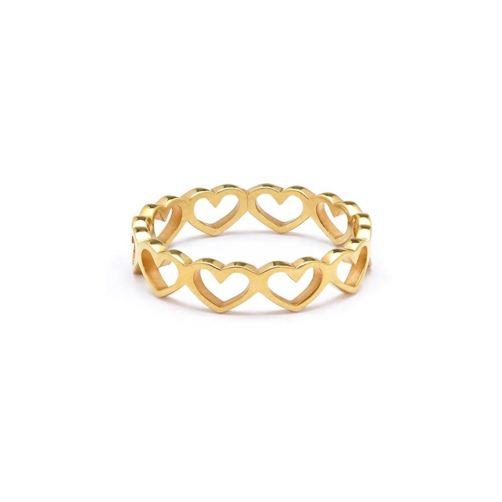 Beautiful Gold Rings   Annie Haak