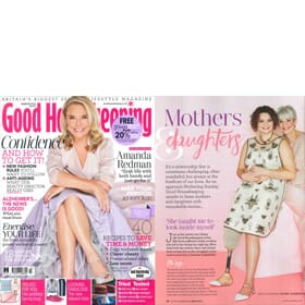 GOOD HOUSEKEEPING March Edition - Feature Page 1