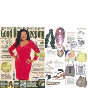 GOOD HOUSEKEEPING April Edition - Feature