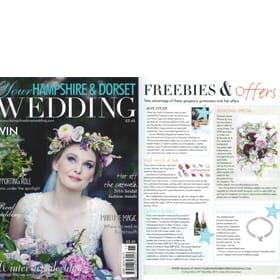 Hampshire & Dorset Wedding Magazine - Amiya's Silver Charm Bracelet Feature