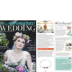 Hampshire & Dorset Wedding Magazine - Sari Personalised Bracelet Feature
