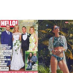 HELLO! Magazine 6th June - Feature Page 103