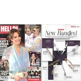 Hello! Magazine Feature 9th November