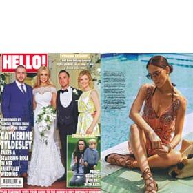 HELLO! Magazine 6th June - Feature Page 102