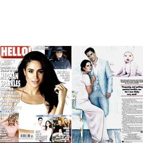 HELLO! Magazine - 1st January Feature