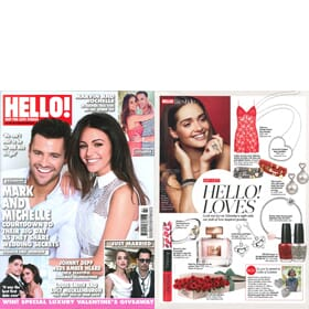 Hello! Magazine - Loves Page