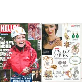 Hello! Magazine Feature 30th November