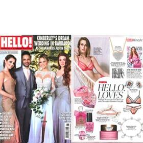 HELLO! Magazine 8th February - Feature