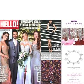 HELLO! Magazine 8th February - Advert