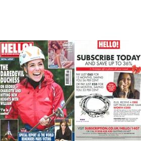 Hello! Magazine 30th November
