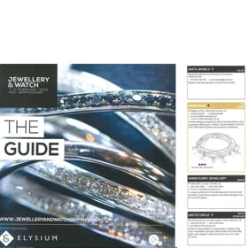 Jewellery and Watch Show - Guide