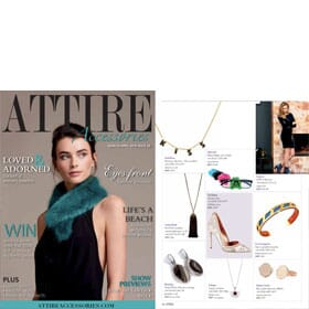 Attire Accessories Magazine - March/April 2018 feature 1