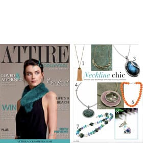 Attire Accessories Magazine - March/April 2018 feature 2
