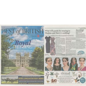 Best of British recommends feature