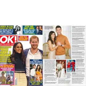 OK! Magazine - 12th December Feature 1