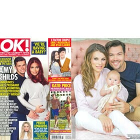 Ok Magazine 24th October - Dancing On Ice Stars Sam Attwater & Vicky Ogden Feature