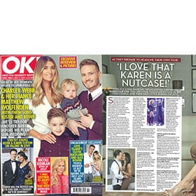 OK! Magazine 17th January - Feature