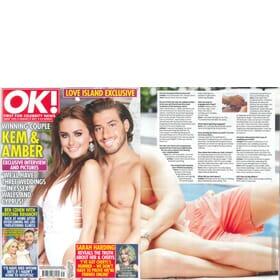 OK Magazine - Love Island Winning Couple