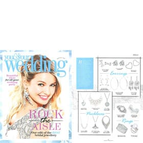 You & Your Wedding - July 2017 Earring Feature