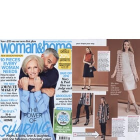 Woman & Home Magazine August - Feature