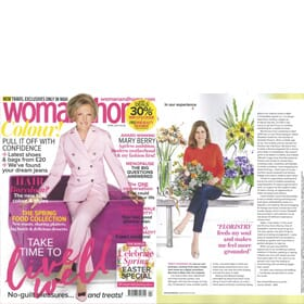 WOMAN AND HOME - April Edition Feature