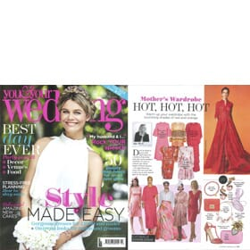 YOU & YOUR WEDDING March/April Edition - Feature
