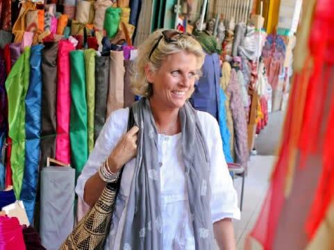 Annie in Bali