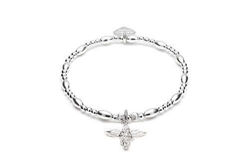 Biji Silver Charm Bracelet - My Guardian Angel
