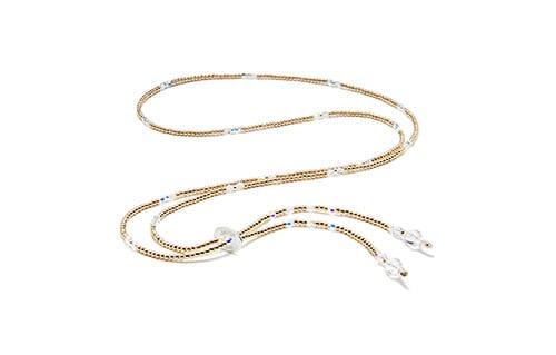 Blissful Swarovski Gold Necklace