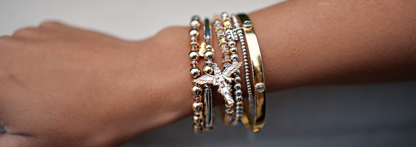 Annie's Angels, Limited Edition Joyous Bracelet Stack