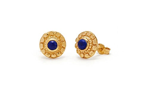 Ronde Gold Earrings