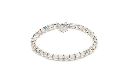 Swarovski Sparkle Bracelet - Clear Crystal