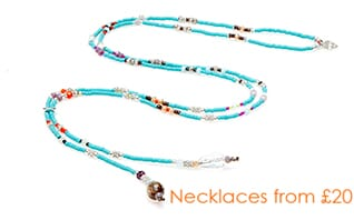 Necklaces from £20