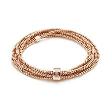 LUCKI ROSE GOLD LOOPED BRACELET