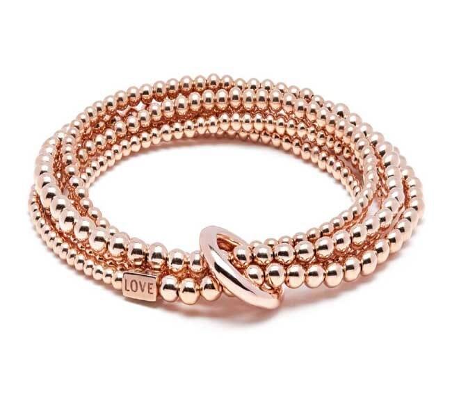 Yard of Love Rose Gold Bracelet