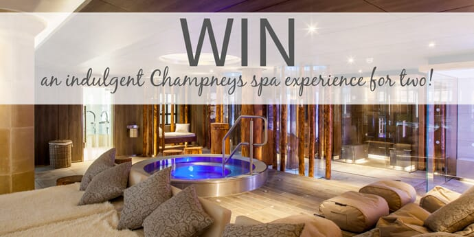 Win An Indulgent Champneys Spa Experience For Two