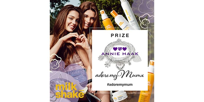 WIN an ANNIE HAAK Bracelet and 6 month supply of milk_shake haircare products!