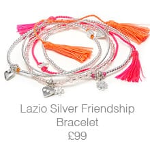 Lazio Friendship Bracelet Stack