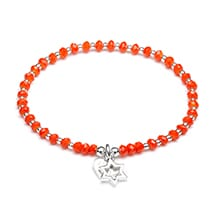 Cosmic Star Silver Charm Bracelet