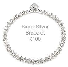 Siena Silver Bracelet