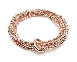 YARD OF ROSE GOLD BRACELET
