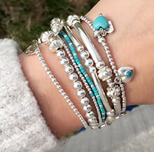 FESTIVAL TURQUOISE STACK