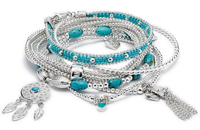 Foxtrot Bracelet Stack