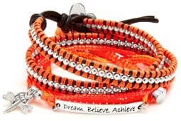 Dream, Believe Achieve Bracelet