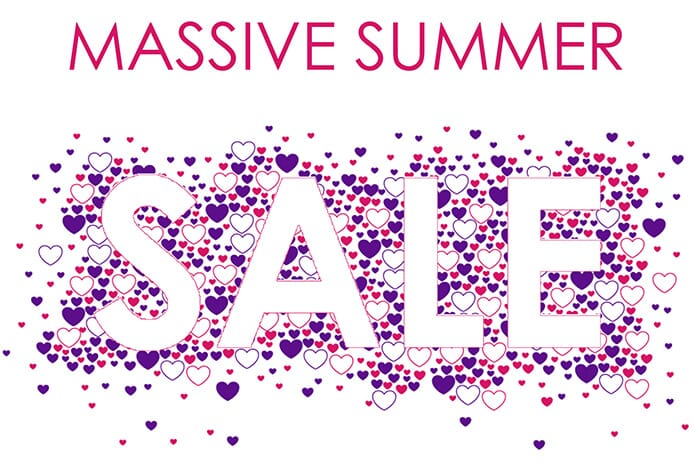 Massive Summer Sale